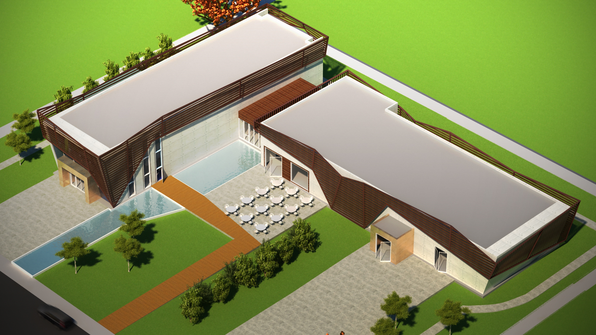 Border-Free Model Home and Museum 2 by omerty