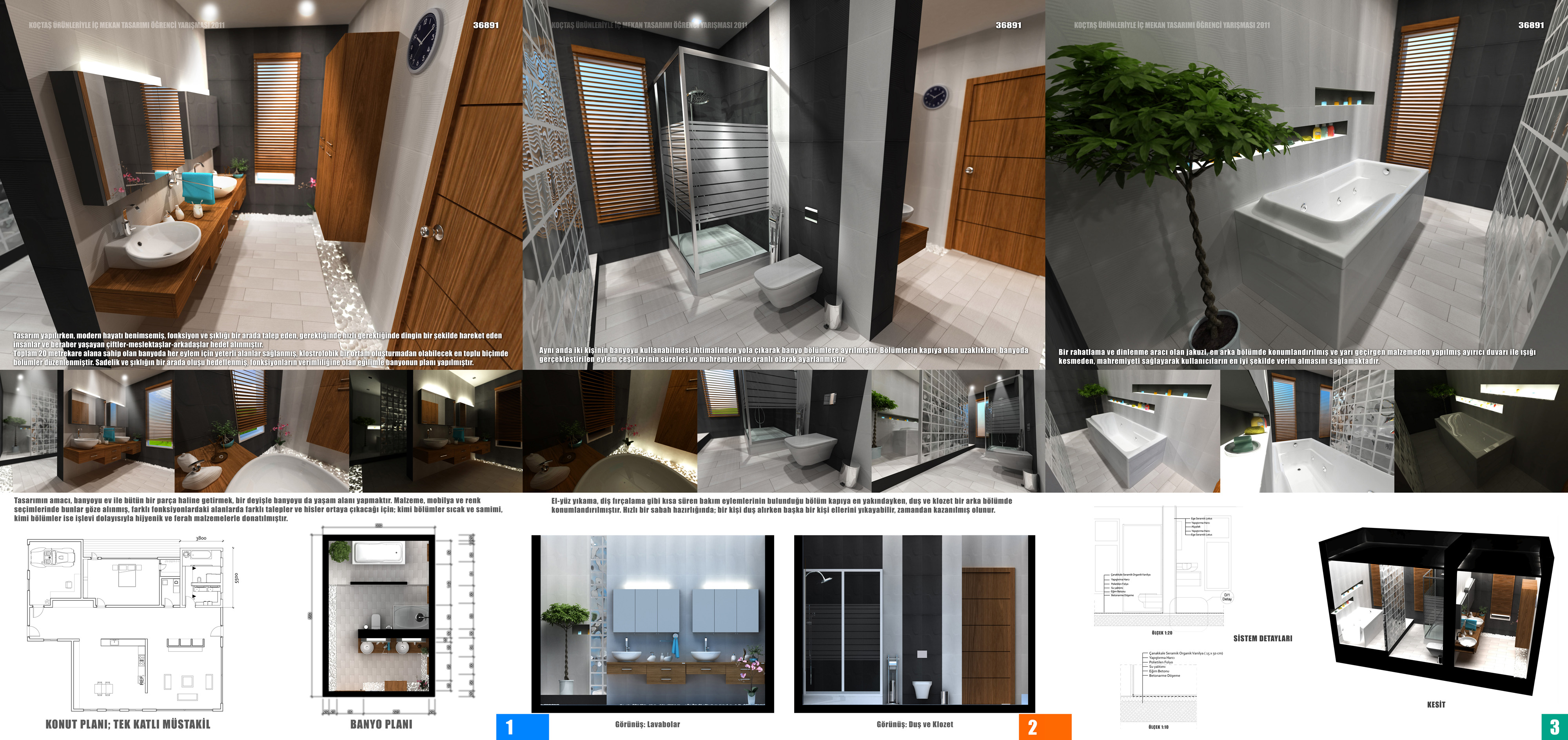 Bathroom Design Competition Sheets By Omerty On Deviantart