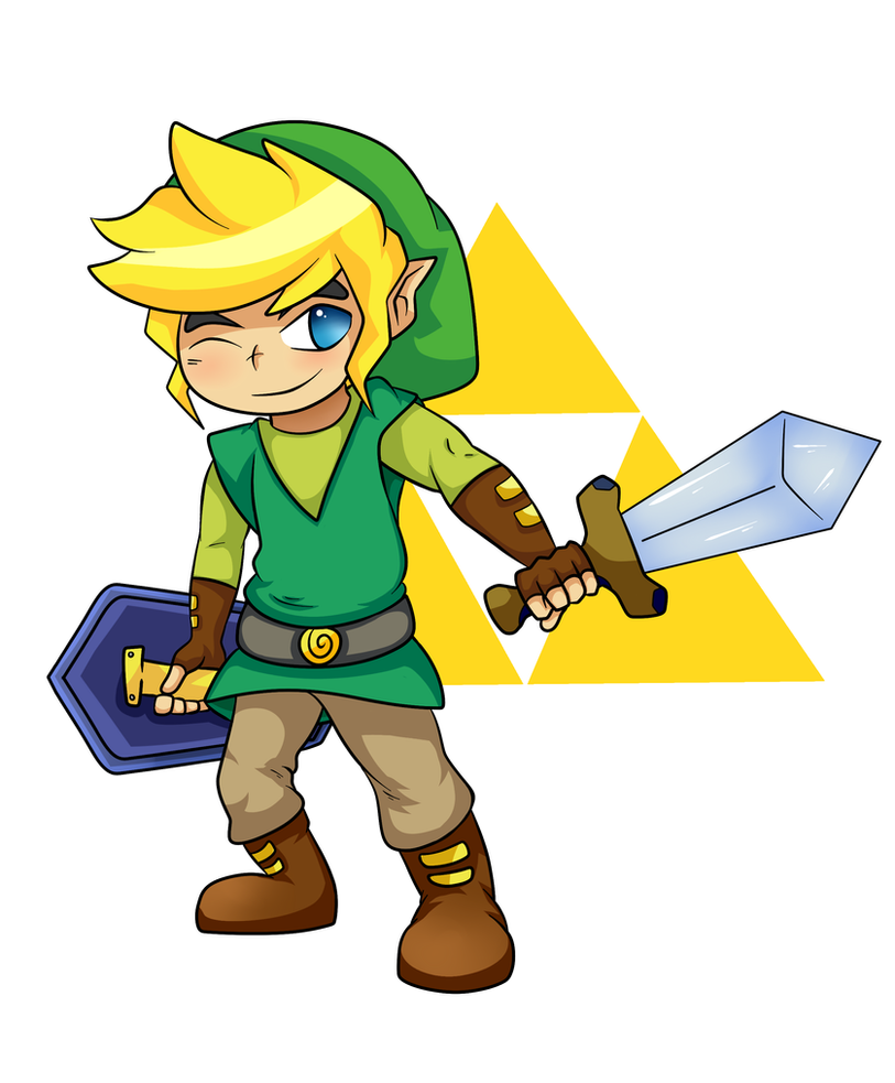The Legend Of  Zelda: Link by Phobus-Apollo