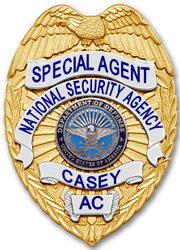 Casey's NSA Badge (Chuck) by SavantiRomero