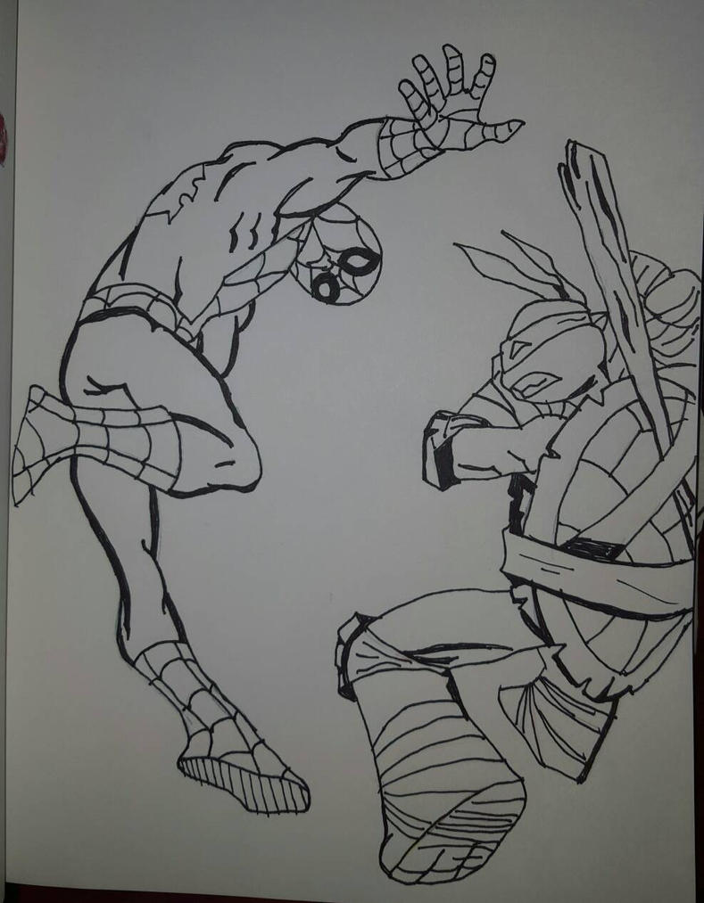 spider_man_and_donatello_heroes_united_4