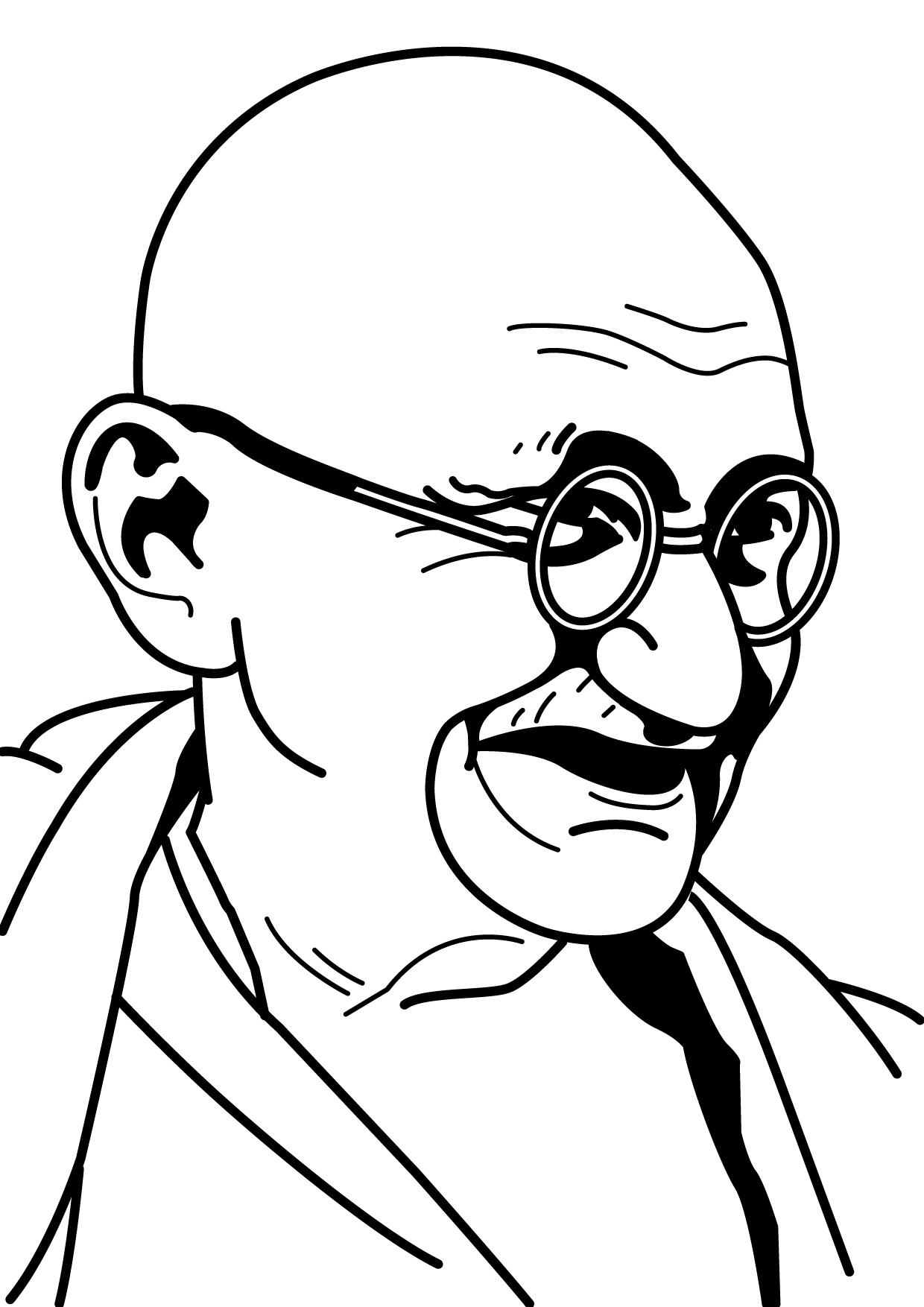 Mohandas Karamchand Gandhi by manishmansinh