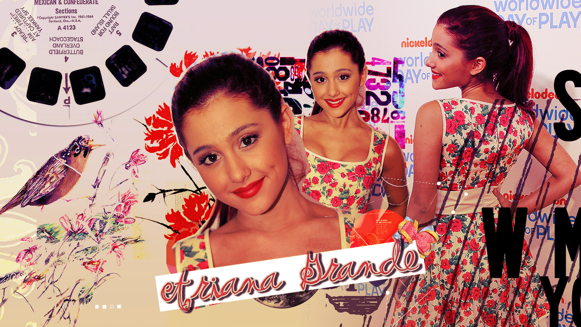 Ariana Grande Wallpaper by