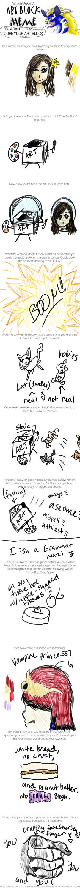 Art Block Meme :D by ErikNightxTayLautner