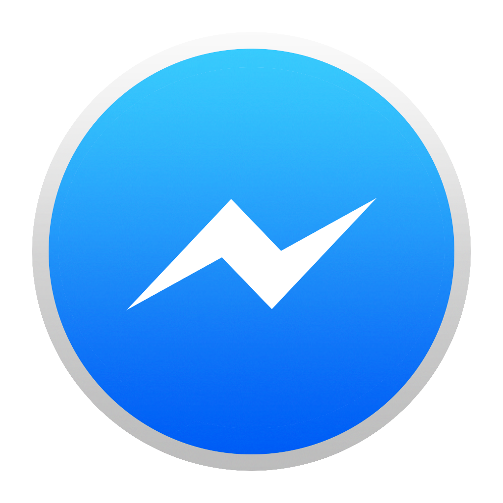 facebook messenger icon for yosemite by josselinco on