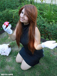 Blue Green Leaf Pokemon Cosplay