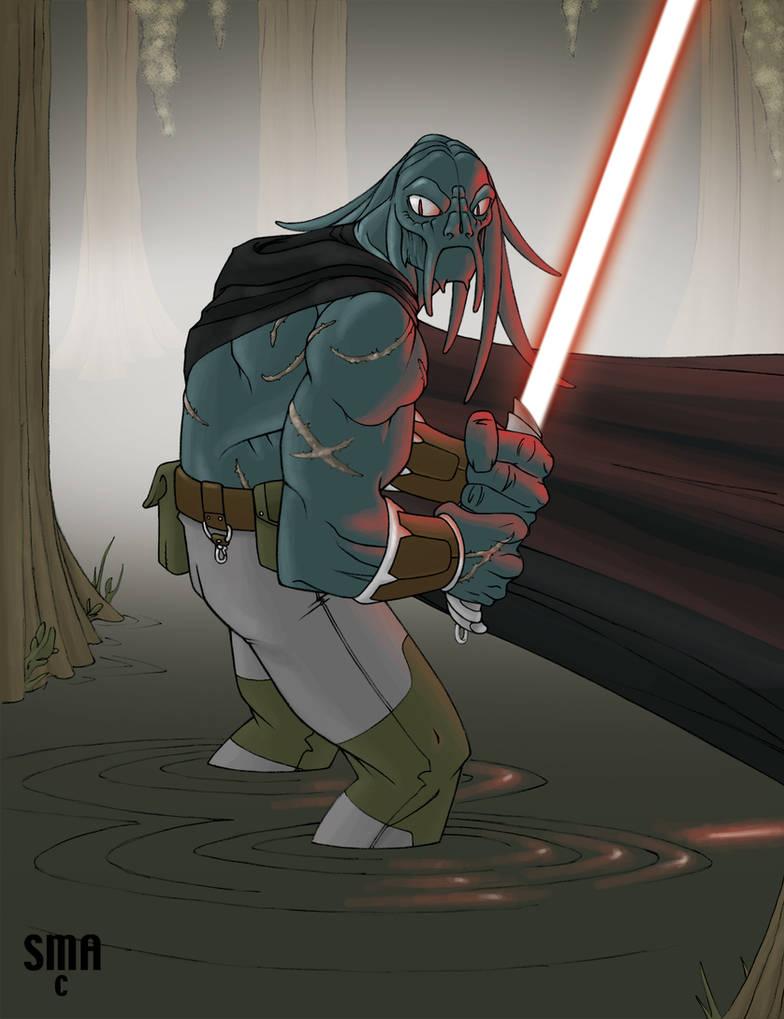 Tel'Va, Sith Hunter