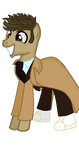 More Accurate Dr.Whooves(Suit and Trench Coat) by SteampunkSalutation