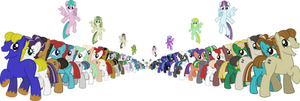 All Bronies are Equal! by SteampunkSalutation
