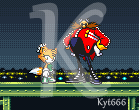 Reika The Fox and EggMan by Kyt666