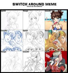 Switch Around Meme by Kyt666