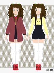 Caroline Harrison Sawyer - Galar Region Outfit by Kyt666