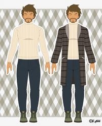 Brock Harrison - Galar Region Outfit by Kyt666