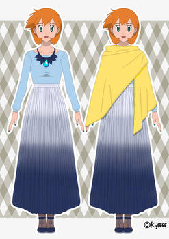 Misty Williams - Galar Region Outfit