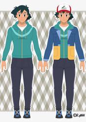 Ash Ketchum - Galar Region Outfit by Kyt666