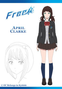 April Clarke - Character Sheet - Fullbody