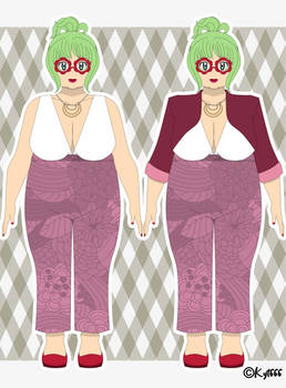 Thia Valentine - Galar Region Outfit