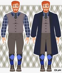 Robert Douglas - Galar Region Outfit