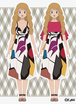 Serena Yvonne - Galar Region Outfit