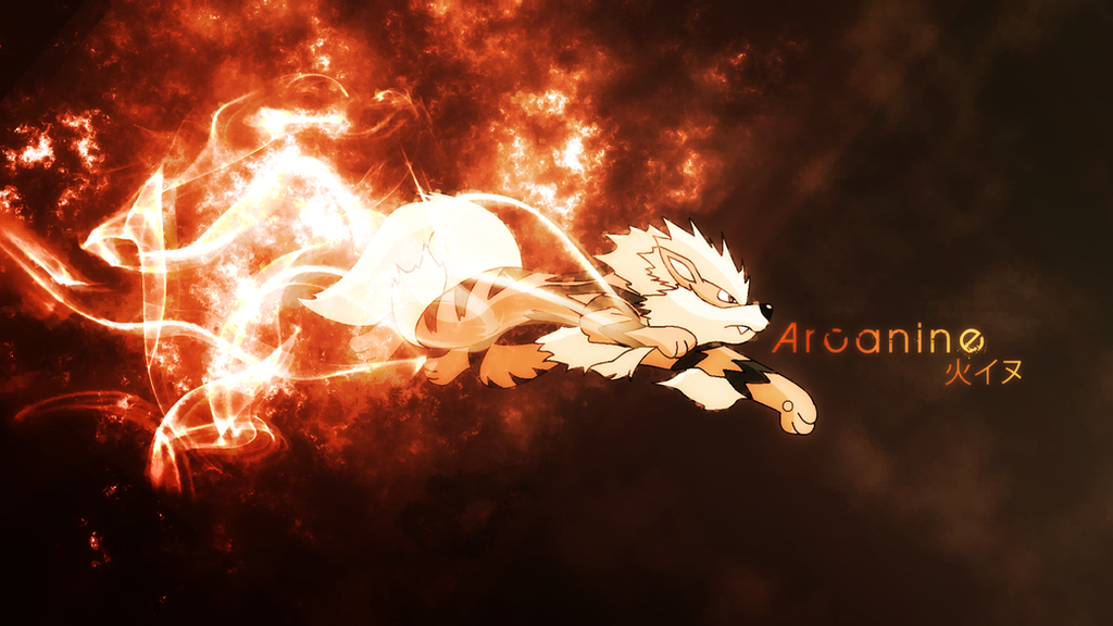 Arcanine Wallpaper by OverdrivenZX on DeviantArt