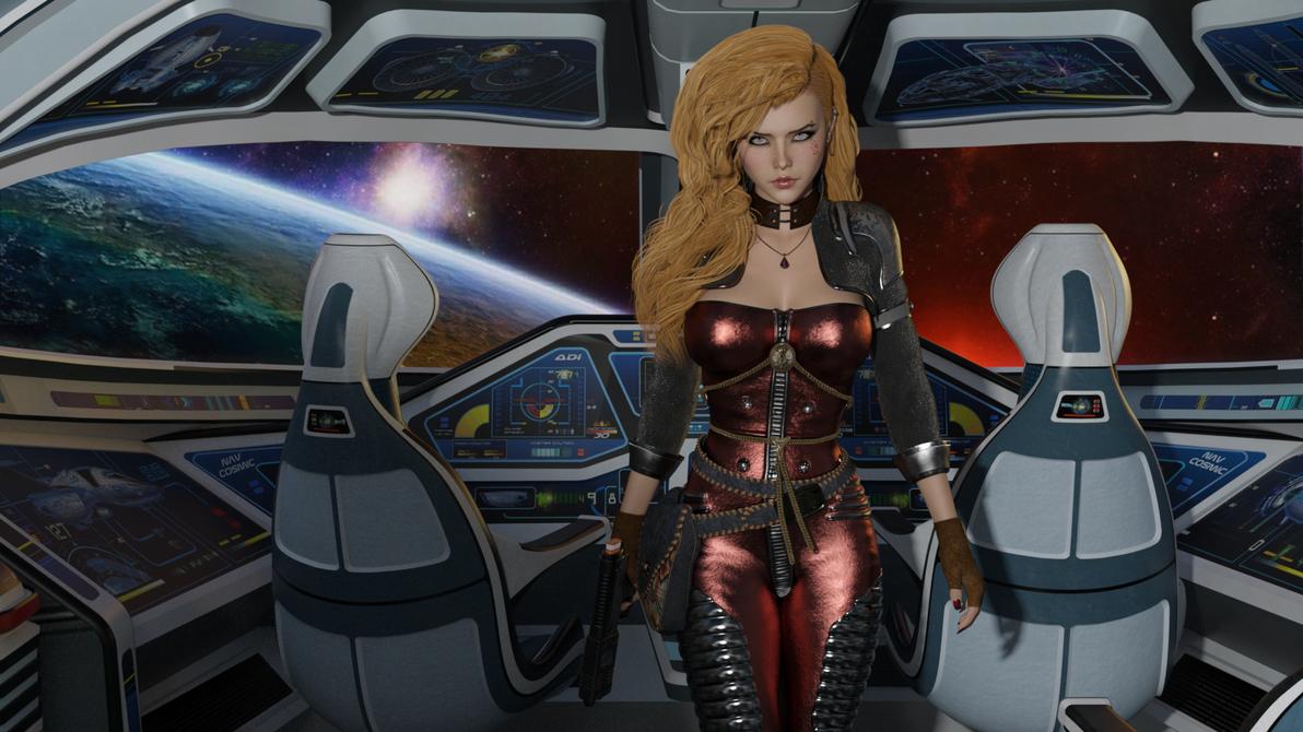 Shuttlestar by ObsidianHawke