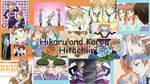 Hikaru and karou collage