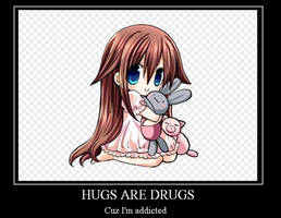 Hugs are drugs by puppieluvr98
