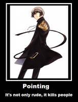 pointing yoite by puppieluvr98