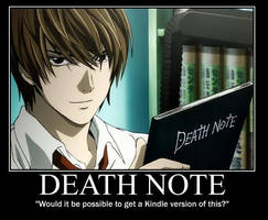 kindle deathnote by puppieluvr98
