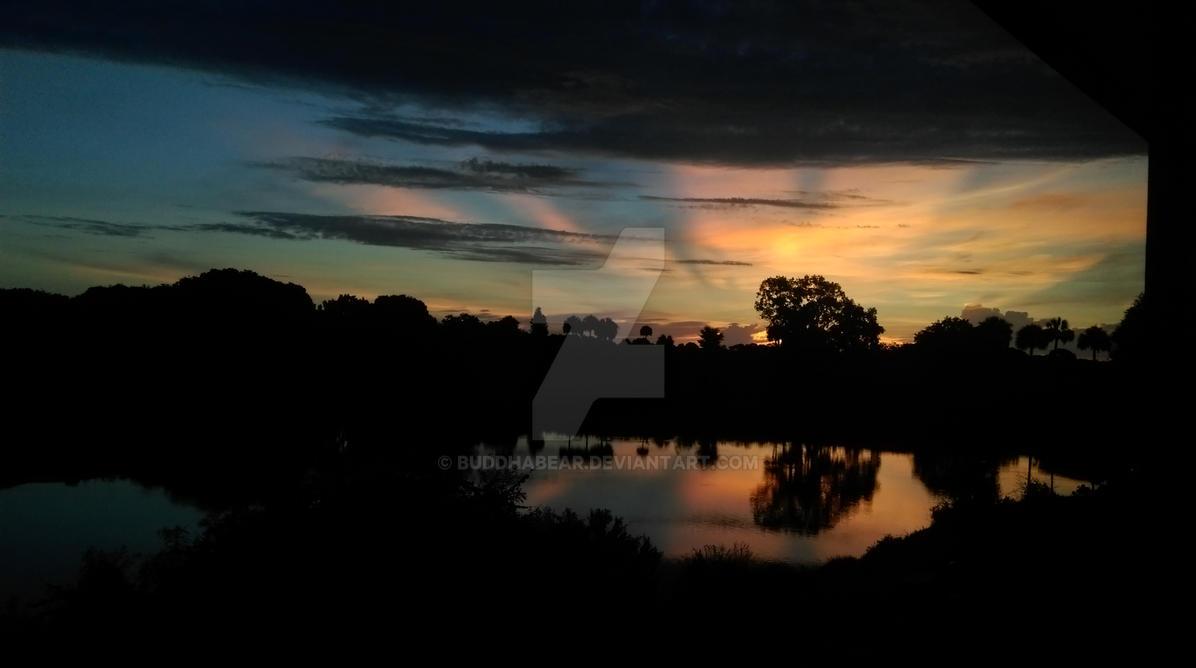 Sunrise with Rays by buddhabear