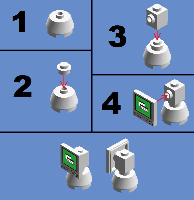 Lego Instructions Imac G4 By Sonicthedashie On Deviantart