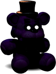 Shadow Freddy Plushie by SonicTheDashie
