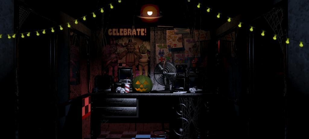FNAF Halloween Update: Spooky Office by SonicTheDashie on DeviantArt