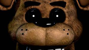Freddy Fazbear With Glow Eyes