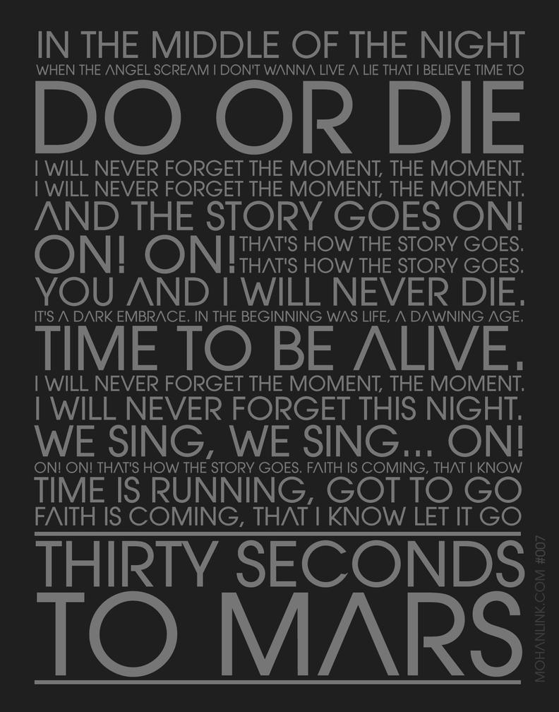 30 Seconds To Mars - Do Or Die Lyrics   MetroLyrics