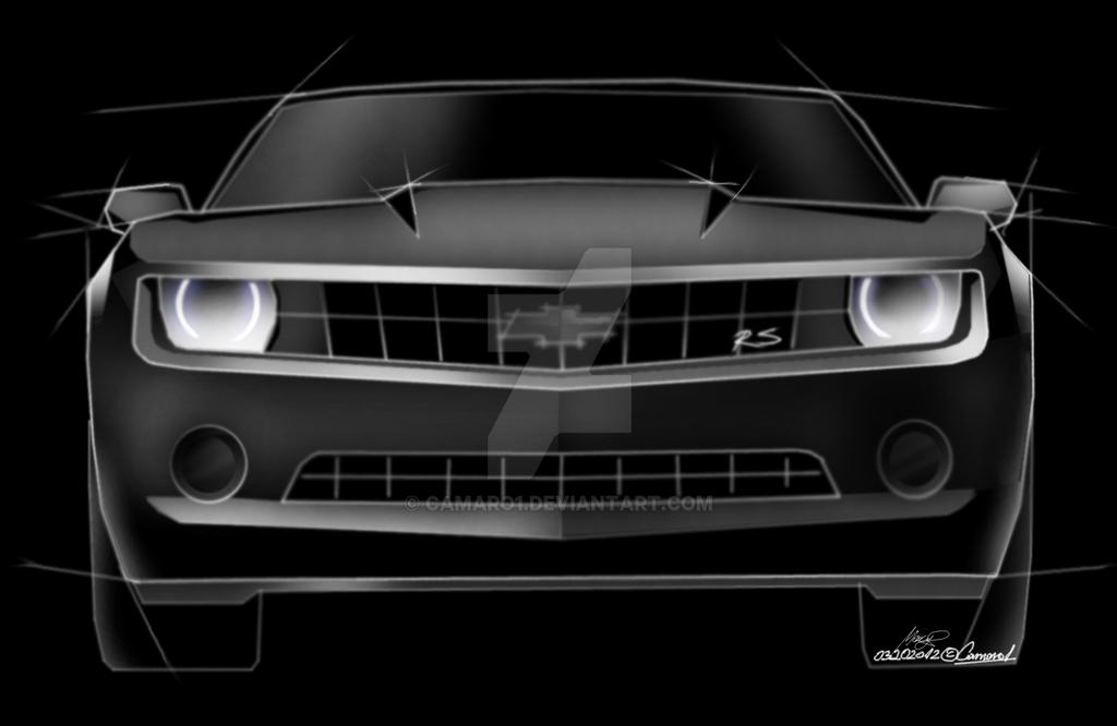 camaro - quick sketch 2 by camaro1