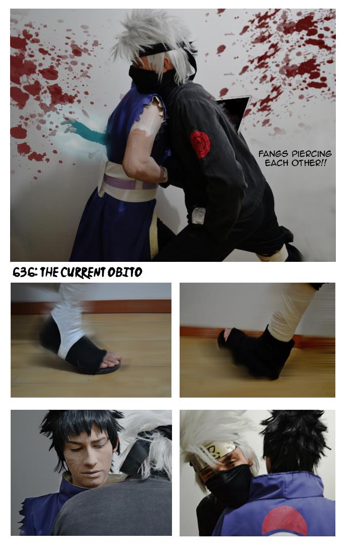 Obito vs Kakashi - Chapter 636 by ivachuk