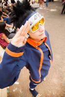 Uchiha Obito Cosplay: Kakashi Gaiden Version by ivachuk