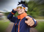 Uchiha Obito Cosplay - I'll become Hokage!