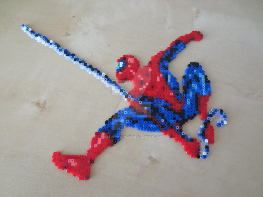 Hama Beads Spiderman: Spiderman Perler By MsSUPERGIRLX3 On DeviantArt