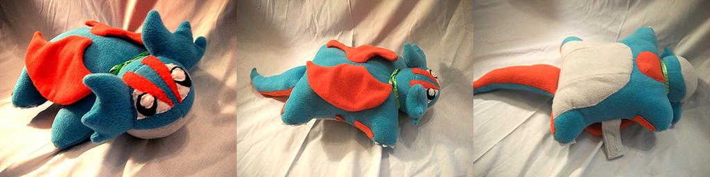 Salamence Pillow Pet by VanguardWingal