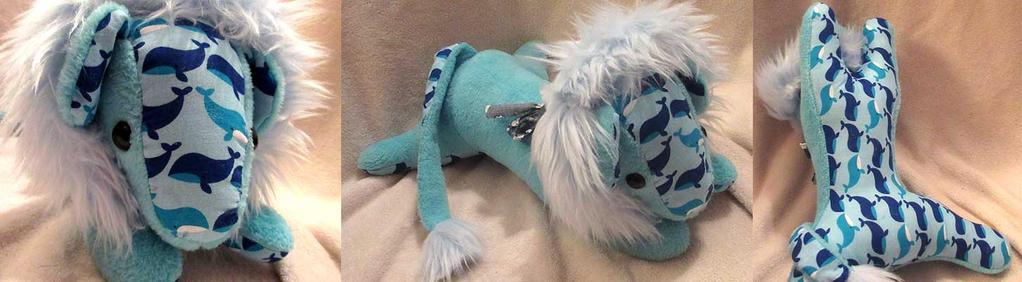 Blue Lion Fae by VanguardWingal