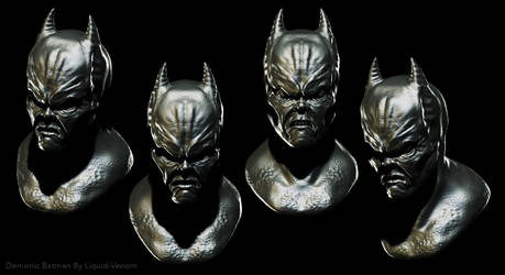 Demonic Batman sculpt