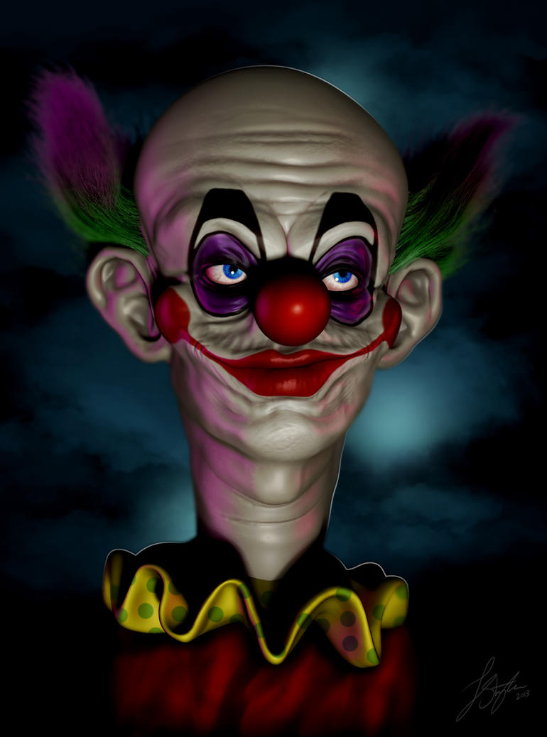 Killer klown from outer space by liquid venom on deviantart for Killer klowns 2