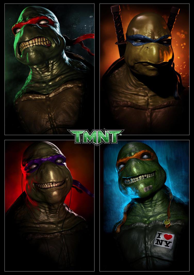 TMNT Collage by liquid-venom