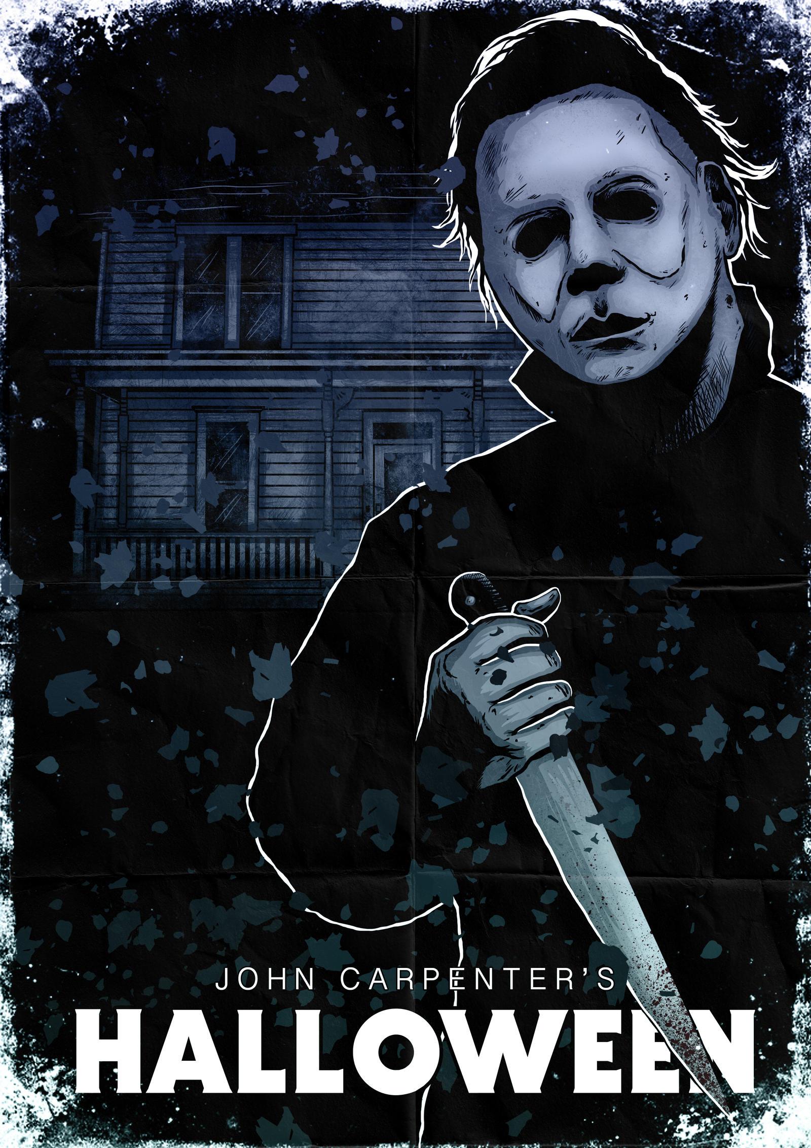 Michael Myers Halloween Poster By Liquid Venom