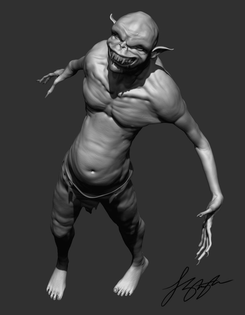 Goblin WIP by liquid-venom