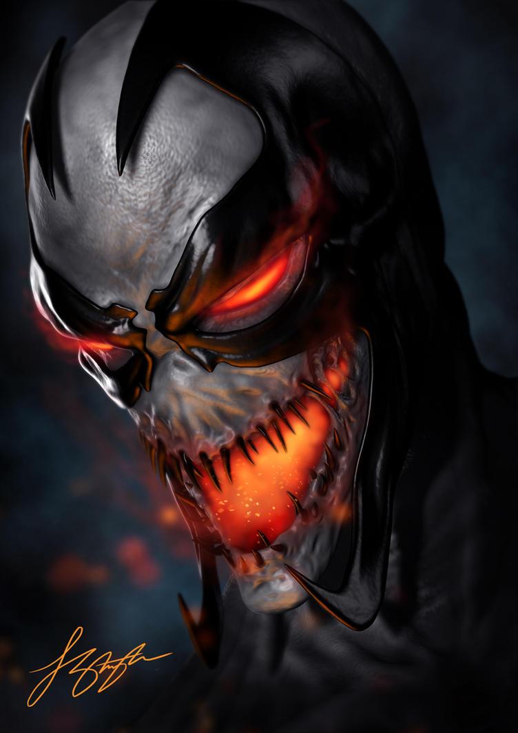 Anti-Venom/Spawn by liquid-venom