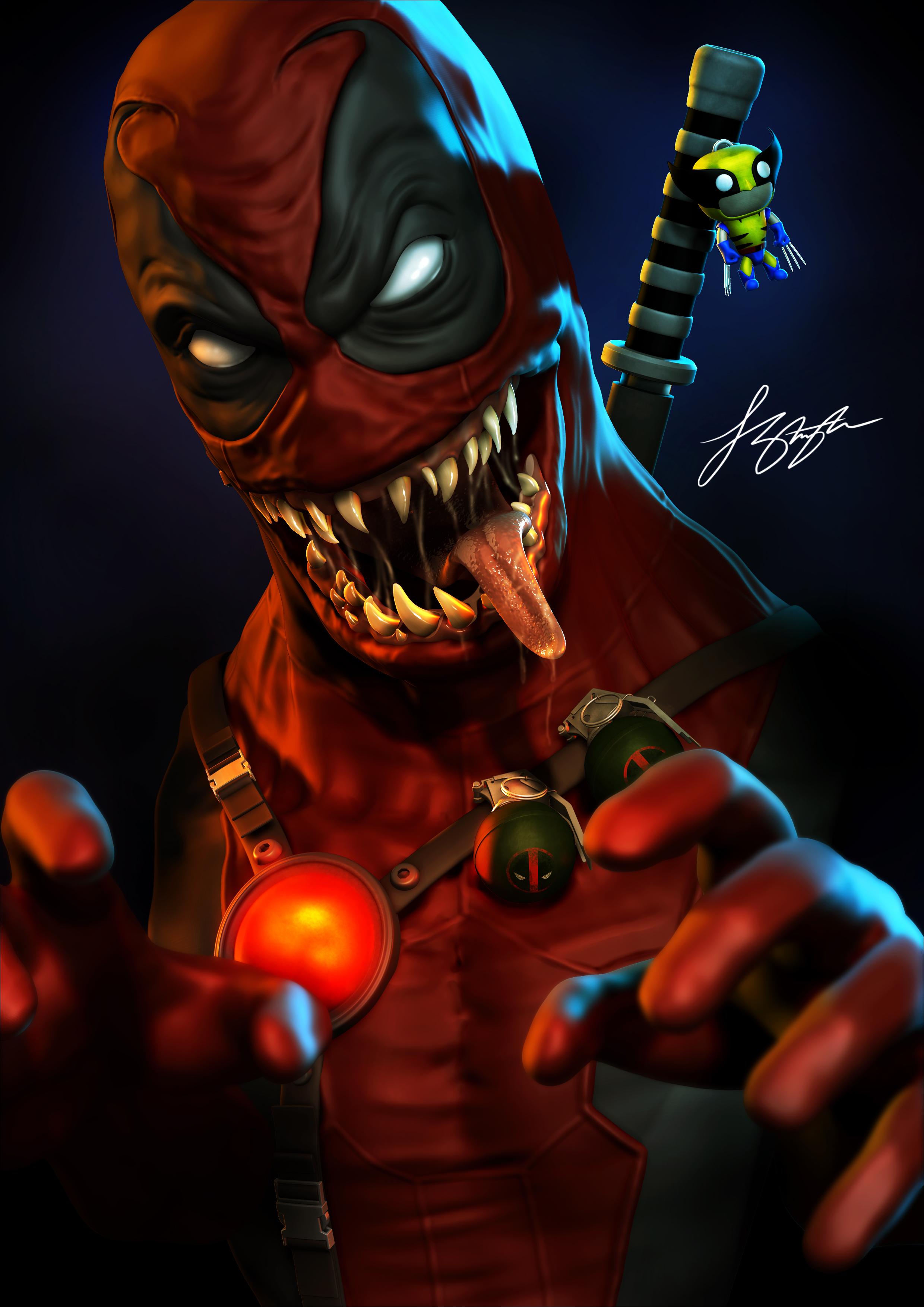 Venompool by liquid-venom on DeviantArt