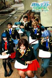 Baka to Test Cosplay Part2 by Asuka-Masamune
